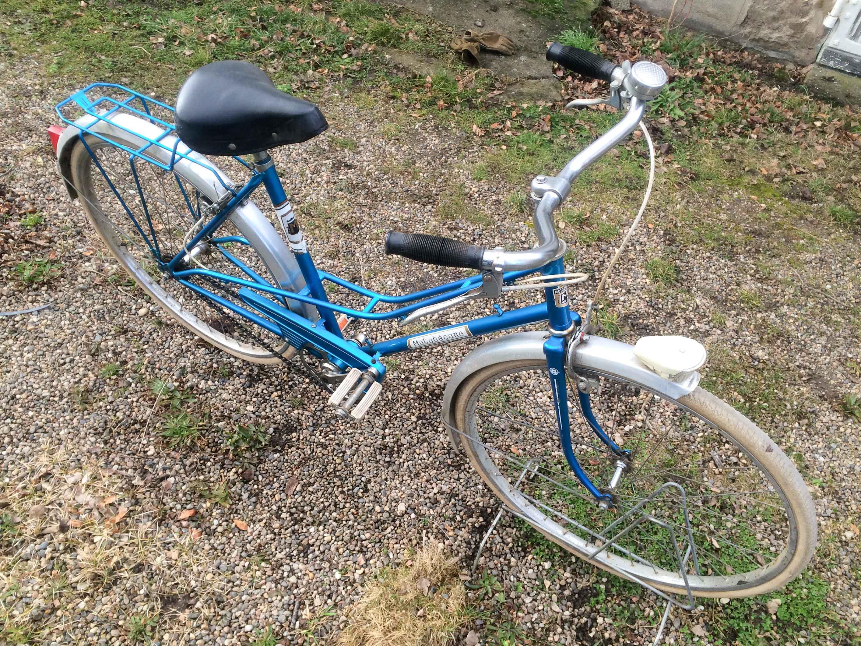 Cyclo Recyclo 187 Velo Motobecane Femme 1970